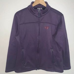 Double Diamond Snow Bird Purple Soft Shell Jacket